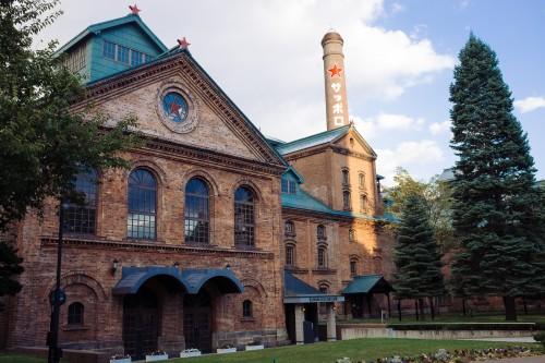 sapporo, beer garden, biere, musée, briques rouges