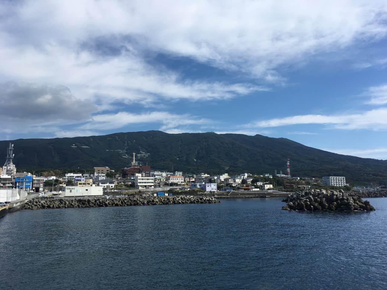 Plongée dans le Pacifique sur l'île de Ôshima
