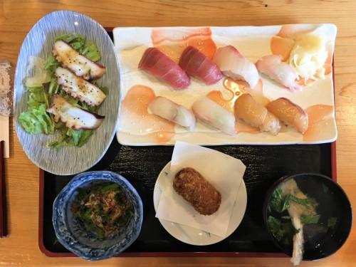 Oshima, Pacifique, île de Tokyo, cuisine, sushi