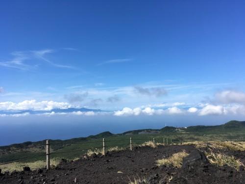 Oshima, Pacifique, île de Tokyo, cratère, Mihara, Mont Fuji