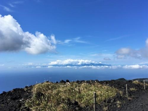 Oshima, Pacifique, île de Tokyo, cratère, Mihara, Honshu