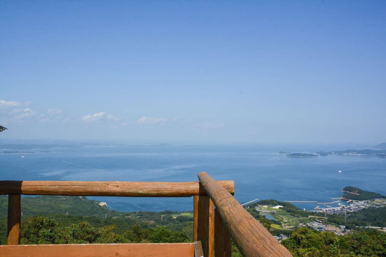 Mont Danyama sur l'île de Teshima au japon