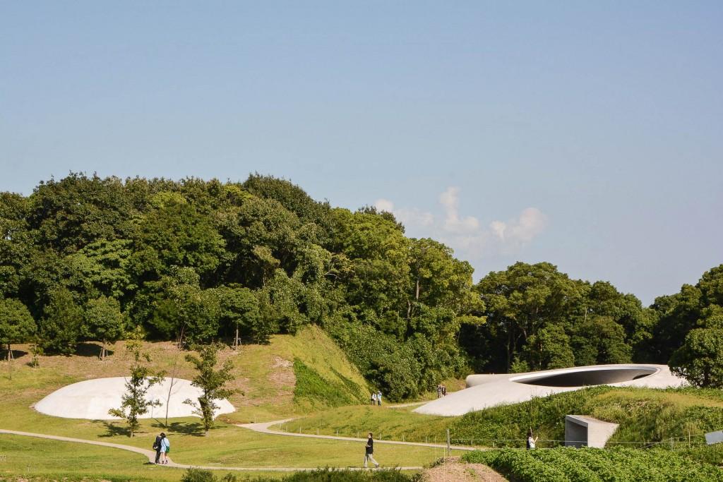 l'Art Museum sur l'île de Teshima dans la Mer Intérieure de Seto