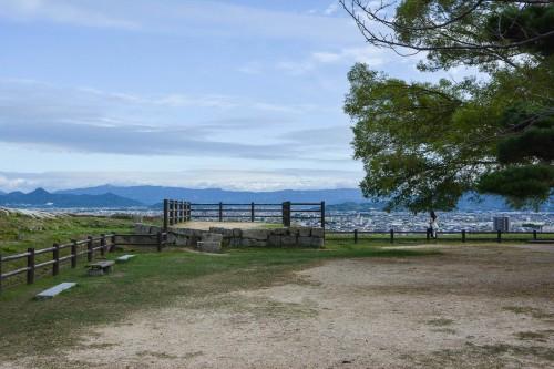 Le château de Marugame dans l'île de Shikoku