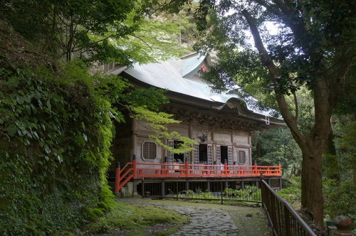 Bâtiment annexe du Futagoji, dans la péninsule de Kunisaki, Oita, Kyushu