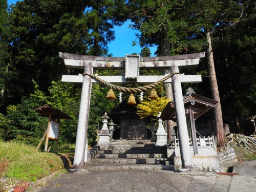 Himi, Mer du Japon, Japon, Temples, Toyama, Torii du Michi-jinja
