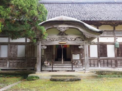 Himi, Mer du Japon, Japon, Temples, Koyo, Automne, Temple Okuno-in