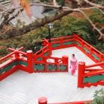 Visiter le sanctuaire Yutoku Inari en kimono