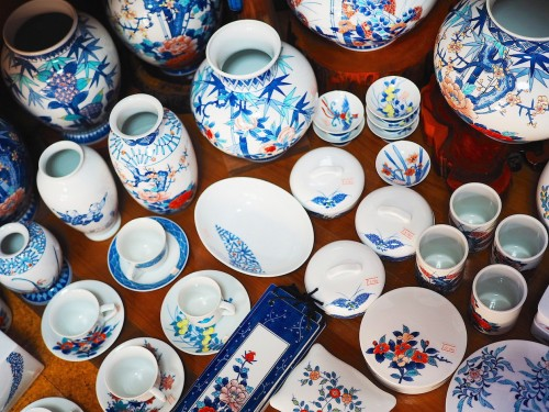 Arita, porcelaine Imari, Kyushu, Artisanat