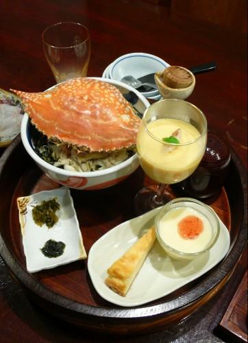 Tara Kakezaki, Ryokan Hoyoso, Crabe, Fruits de mer, Saga, Kyushu, Kanimabushi