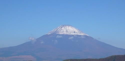 Le jour de la montagne, avec l'iconique Fuji san