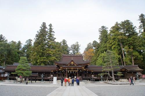 le sanctuaire japonais de Taga dans la préfecture de Shiga