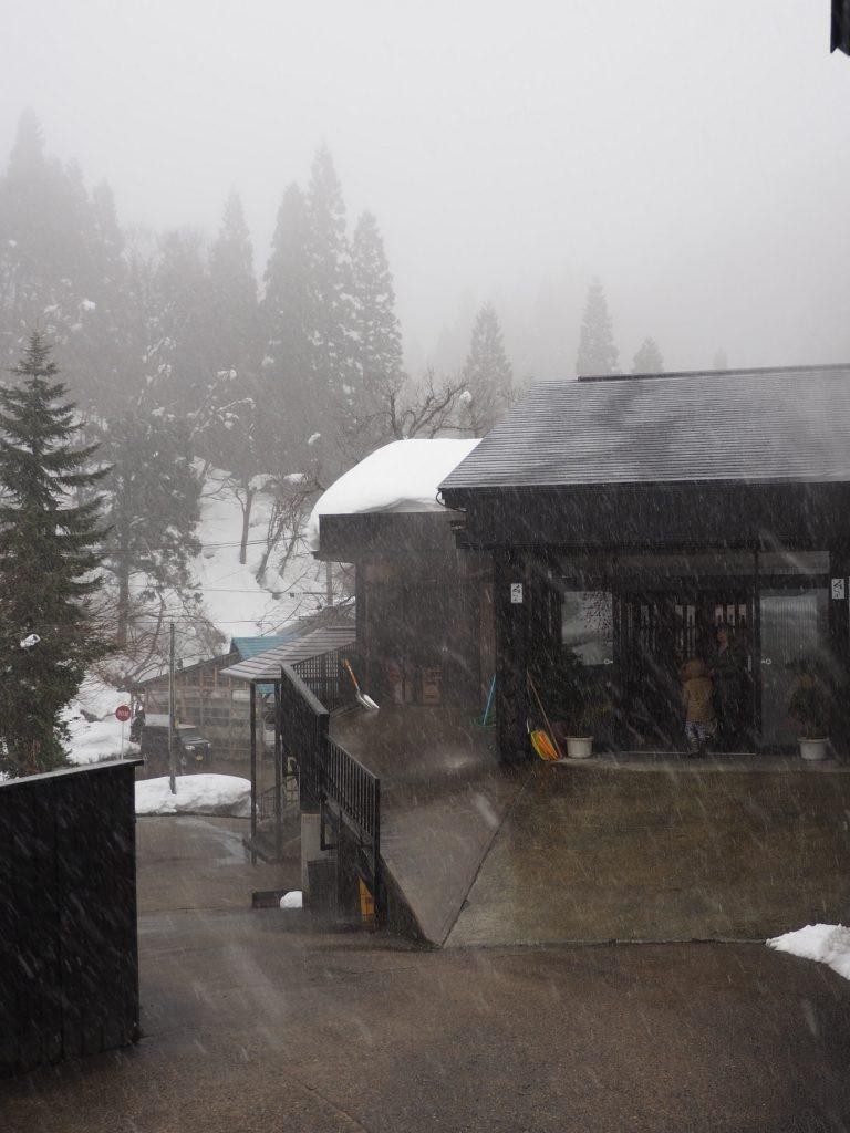il neige dans la préfecutre de yuzawa