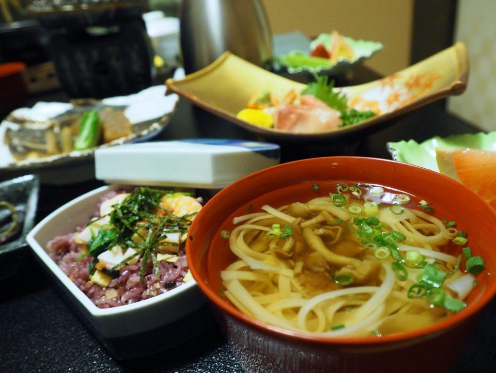 Inaniwa udon, spécialité de la préfecture de Yuzawa