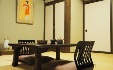 salon d'un ryokan japonais