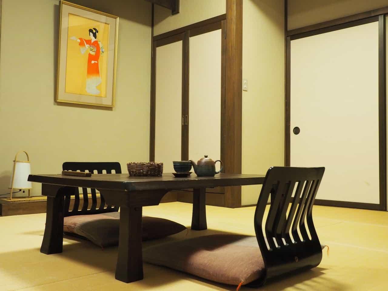 L'authenticité d'un <em></noscript>ryokan</em> traditionnel de Oyasukyo Onsen