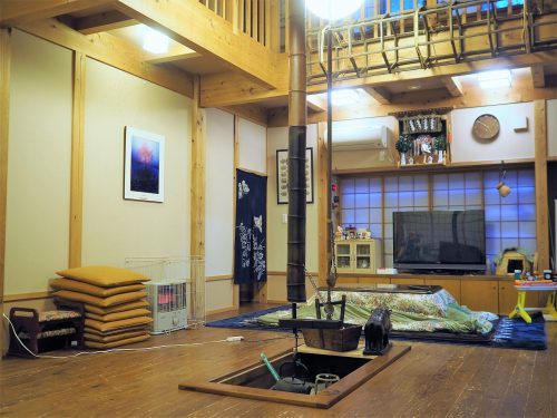 Sandayu,Minshuku,Yamakoshi,Niigata,riz, Irori