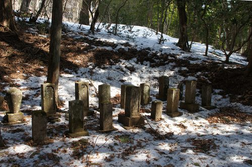 Mitsumine, Chichibu, Saitama, Seibu, petit cimetière