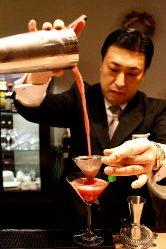 Manza Prince Hotel, Manza, Gunma, Station de ski, Japon, cocktail