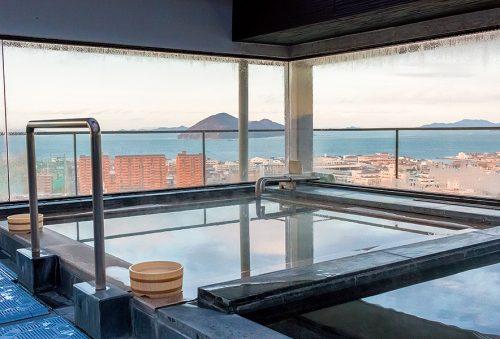 Setouchi, ryokan, onsen, luxe, top 6, mer intérieure de Seto, Japon, Takamatsu Hanajukai Onsen