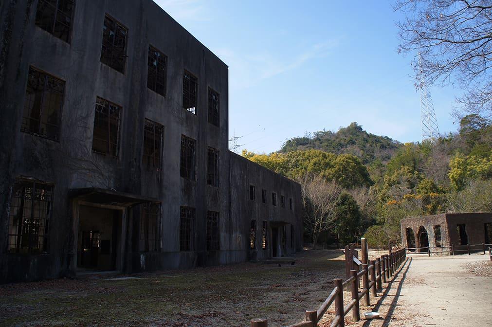 Okunoshima : ruines de la centrale électrique