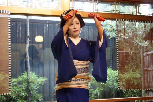 Geigi du quartier de Furumachi à Niigata, Japon