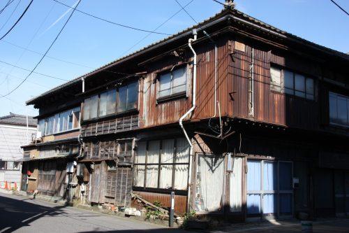 Maison ancienne dans le quartier de Nuttari à Niigata, au Japon