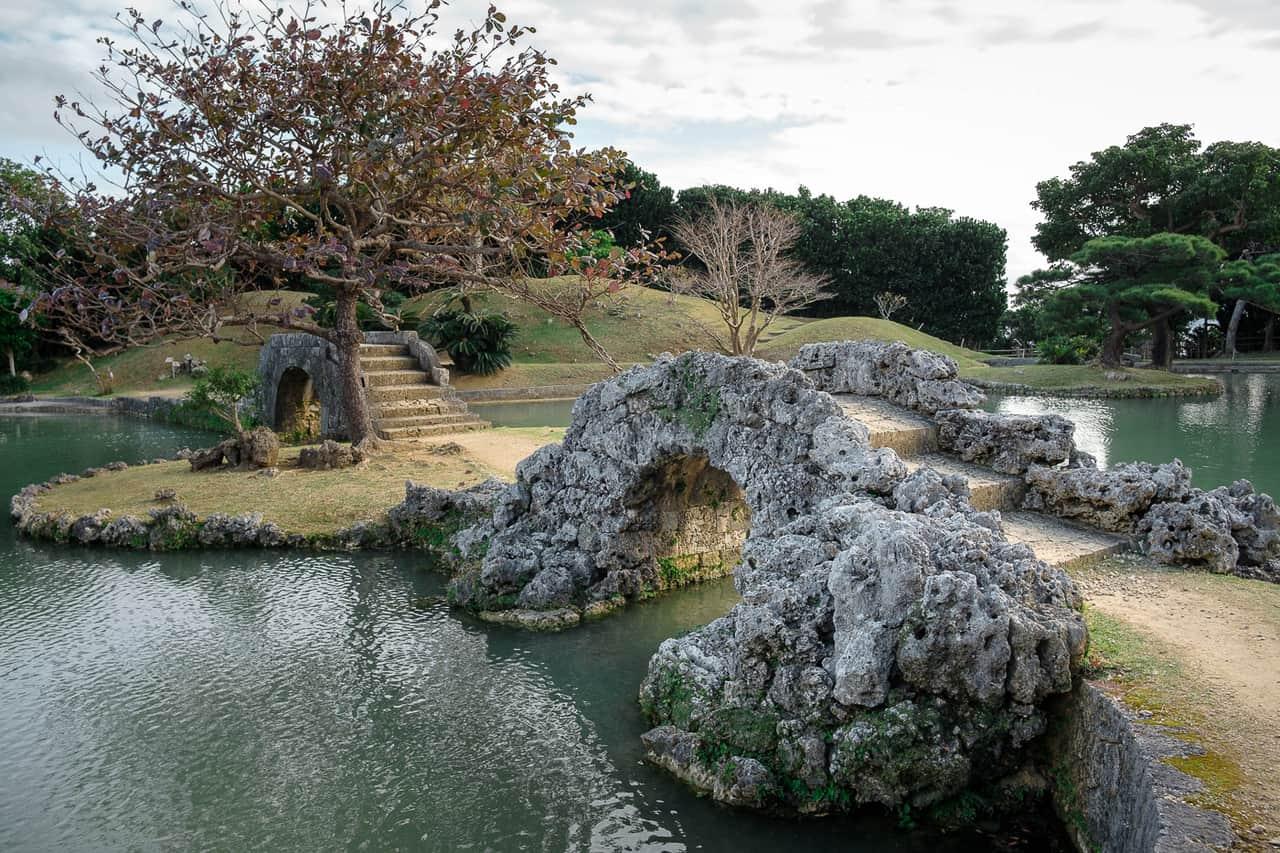 Les jardins de Naha, fusion de styles et de traditions