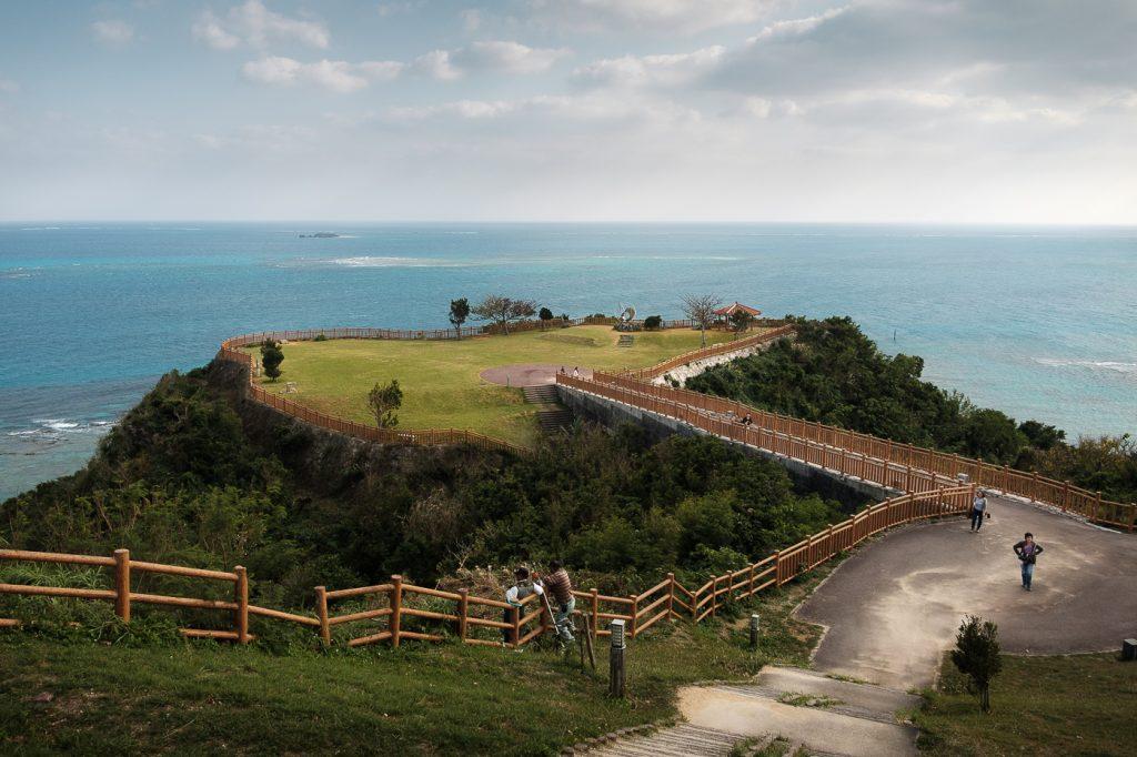 magnifique panorama sur Okinawa