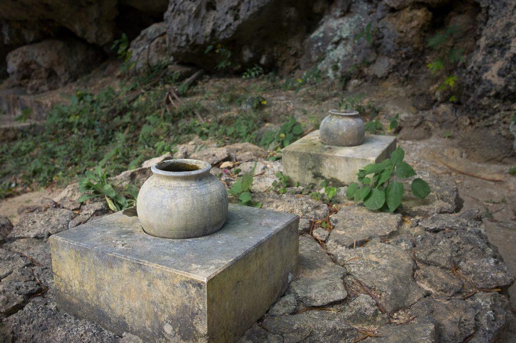 Vestige des temples du Seifa Utaki, témoin de la culture des îles Ryukyu