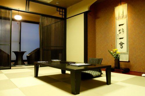 Ryokan Kurodaya dans la ville thermale de Beppu, préfecture d'Oita, Japon