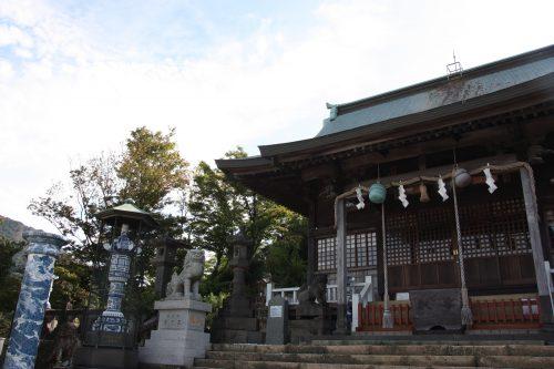 Sanctuaire Tozan-jinja à Arita, préfecture de Saga, Kyushu, Japon