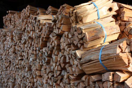 Réserve de bois pour le four de la famille Kakiemon à Arita, préfecture de Saga, Kyushu, Japon