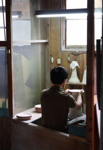 Atelier de la famille Shinemon à Arita, préfecture de Saga, Kyushu, Japon