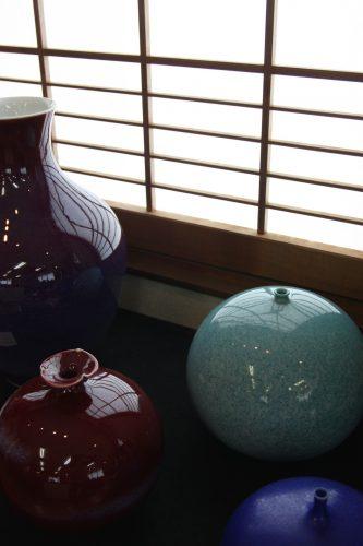 Showroom de la famille Shinemon à Arita, préfecture de Saga, Kyushu, Japon