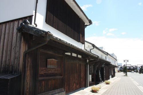 La petite ville de Kitsuki, préfecture d'Oita, Kyushu, Japon