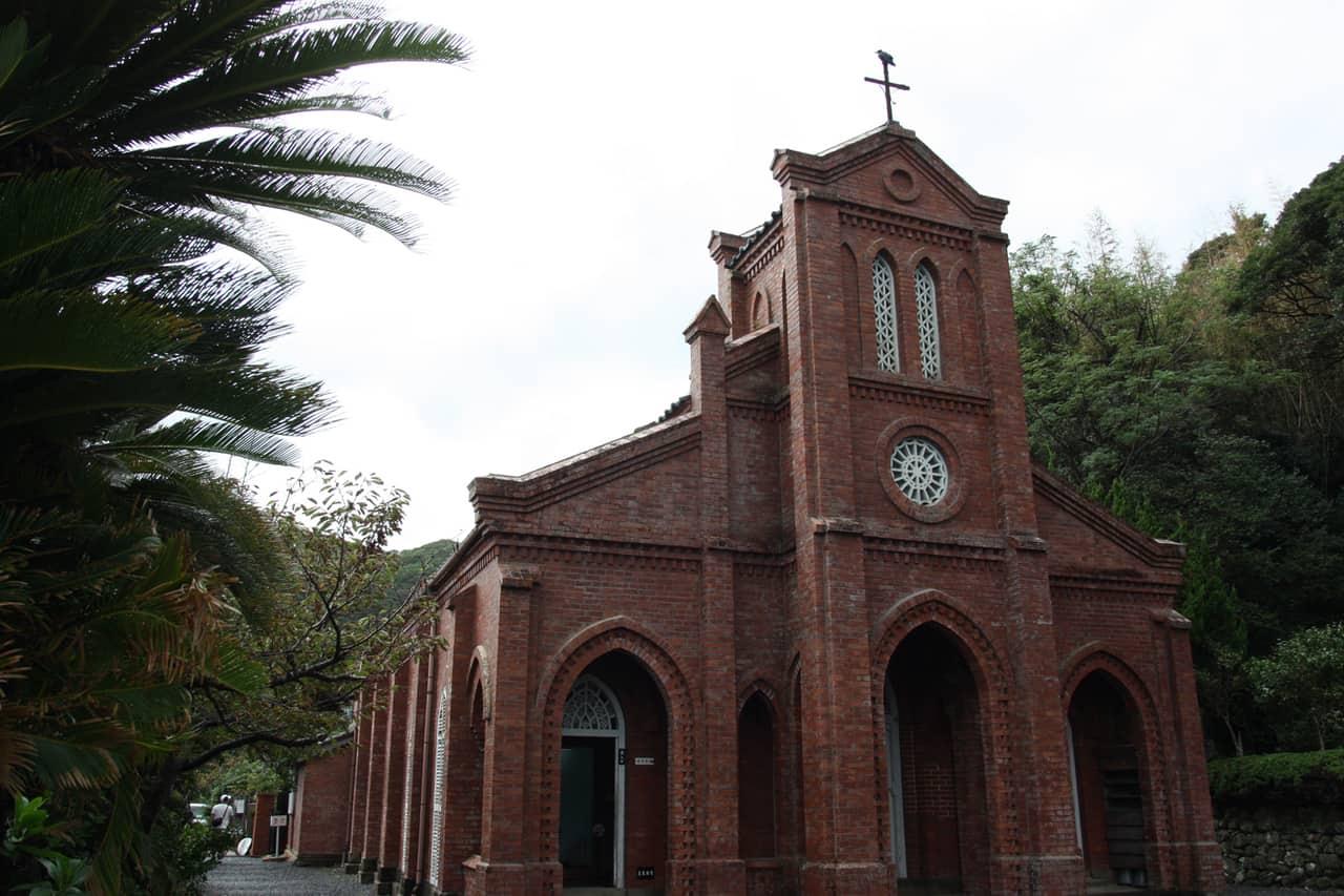 Église de Dozaki, îles de Goto, préfecture de Nagasaki, Kyushu, Japon