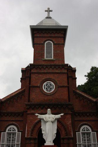 Église à Kami Goto, Îles de Goto, préfecture de Nagasaki, Kyushu, Japon
