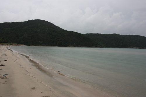 Plage d'Hamagurihama, Îles de Goto, préfecture de Nagasaki, Kyushu, Japon