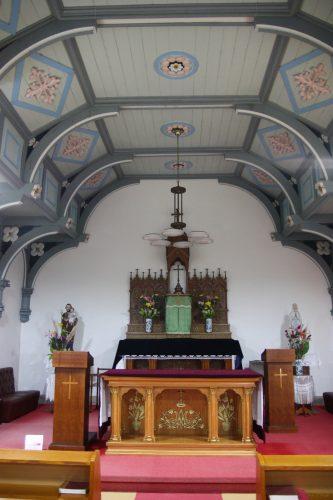 Église de Kashiragashima, Îles de Goto, préfecture de Nagasaki, Kyushu, Japon