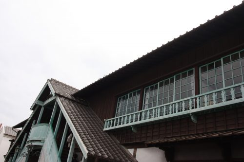 Dejima à Nagasaki, préfecture de Nagasaki, Kyushu, Japon