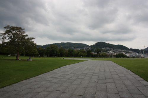 Le Seaside Park de Nagasaki, préfecture de Nagasaki, Kyushu, Japon