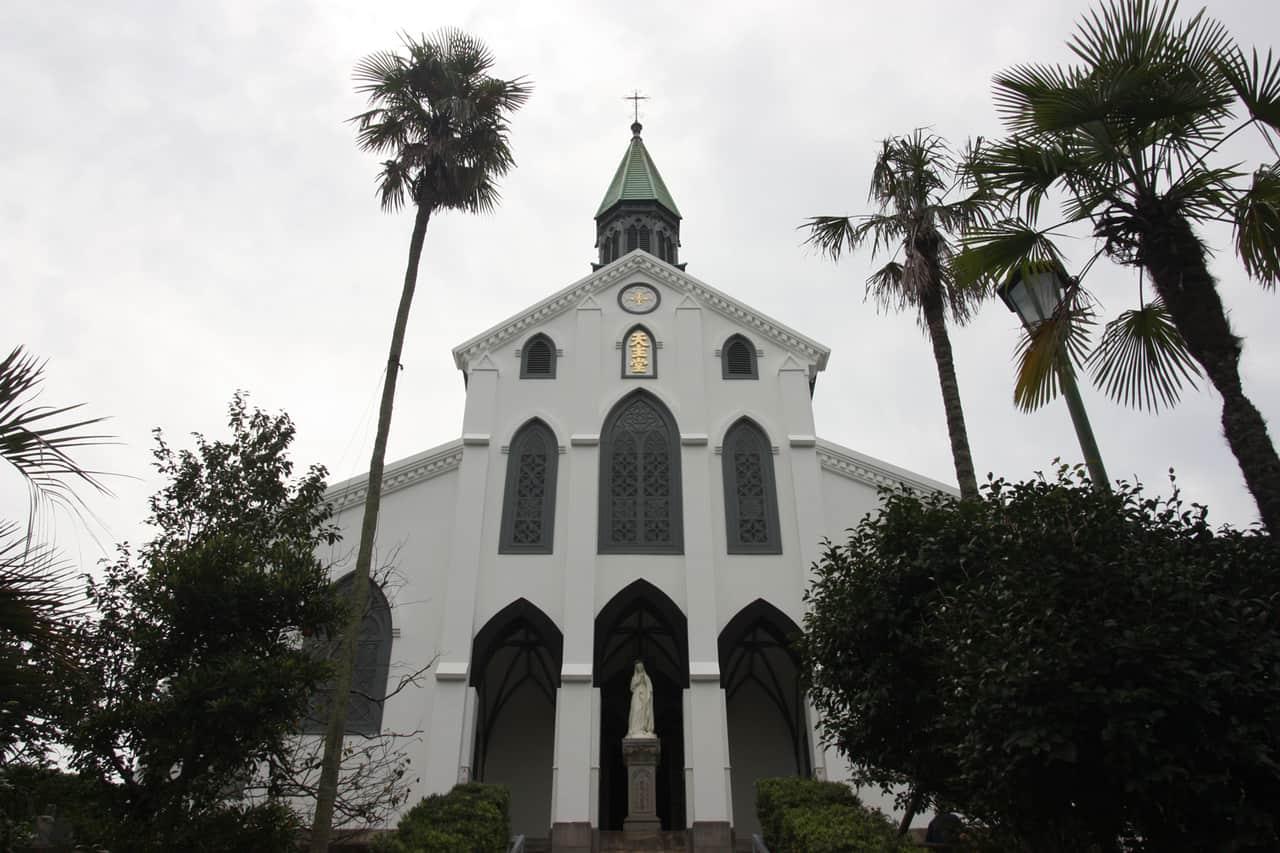 Église d'Oura, préfecture de Nagasaki, Kyushu, Japon