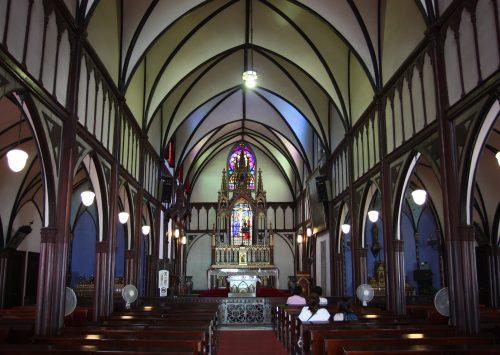 Église d'Oura à Nagasaki, préfecture de Nagasaki, Kyushu, Japon