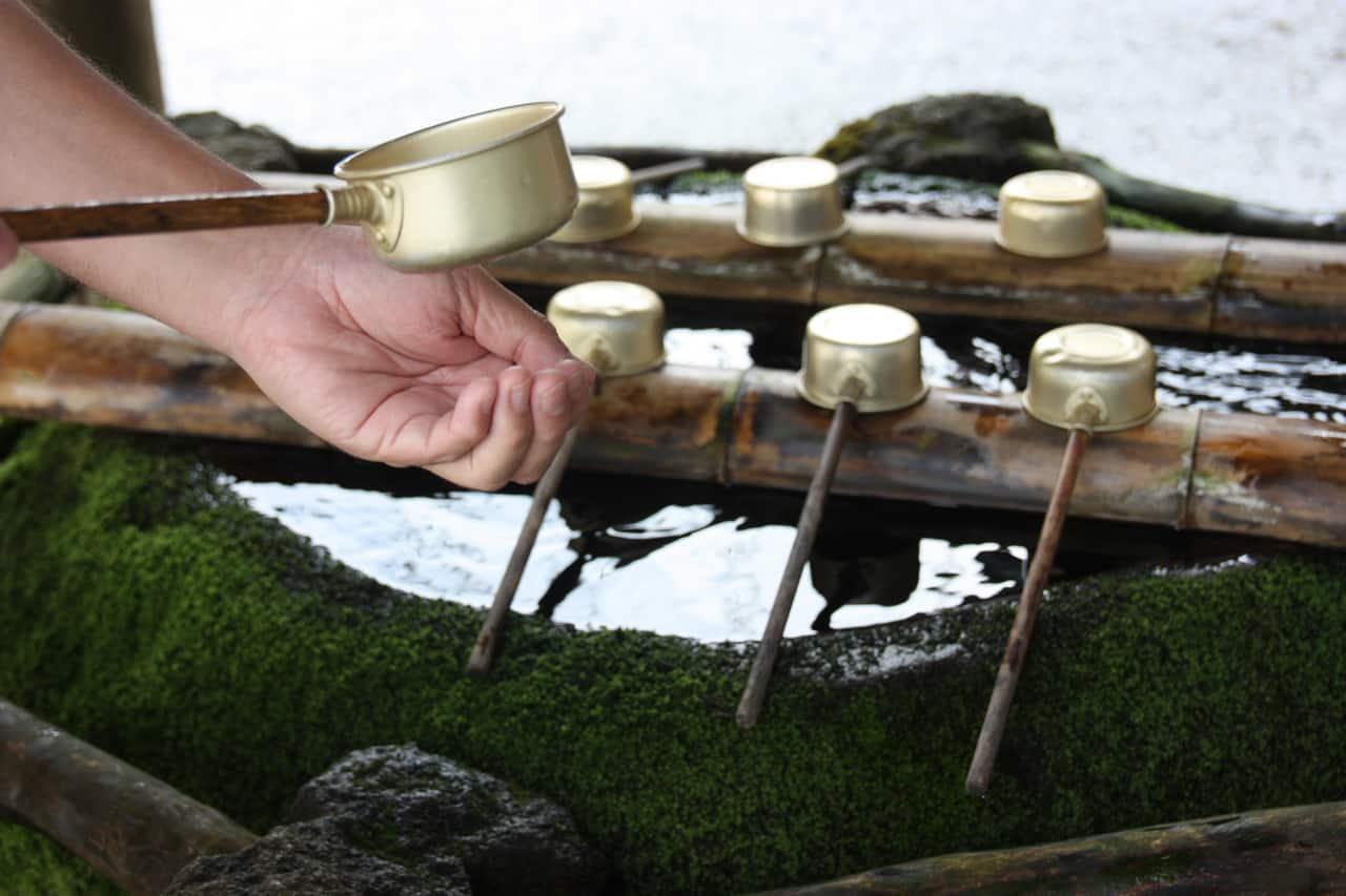Au sanctuaire du Mt Hiko, préfecture de Fukuoka, Kyushu, Japon