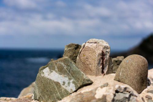 Ruines d'un sanctuaire pour les pêcheurs de Takahama, préfecture de Fukui, Japon