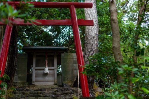 Petit sanctuaire à Takahama, préfecture de Fukui, Japon