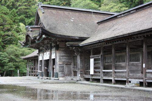 Sanctuaire d'Ogamiyama, au pied du Mt Daisen, préfecture de Tottori, Japon