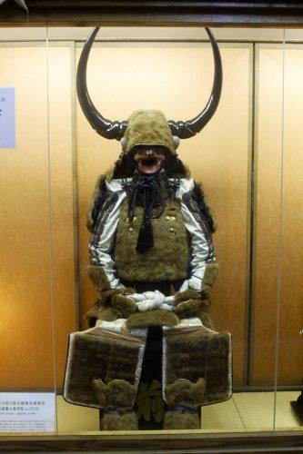 Tenues d'hiver des samouraï au château de Nakatsu, dans la préfecture d'Oita, Japon