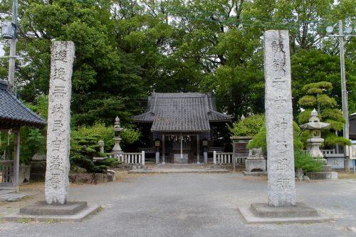 Dans l'enceinte du château de Nakatsu, dans la préfecture d'Oita, Japon